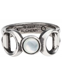 Triple Goddess Pewter Ring All Wicca Store Magickal Supplies Wiccan Supplies, Wicca Books, Pagan Jewelry, Altar Statues
