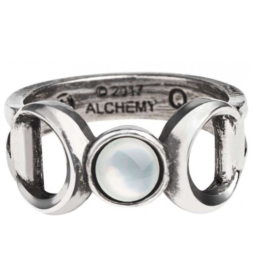 Triple Goddess Pewter Ring at All Wicca Supply Shop, Wiccan Supplies, All Wicca Books, Pagan Jewelry, Wiccan Altar Statues