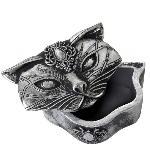 Sacred Cat Trinket Box at All Wicca Store Magickal Supplies, Wiccan Supplies, Wicca Books, Pagan Jewelry, Altar Statues