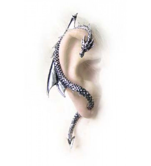 Dragons Lure Earring Wrap - Right Ear at All Wicca Store Magickal Supplies, Wiccan Supplies, Wicca Books, Pagan Jewelry, Altar Statues