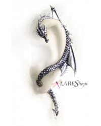 Dragons Lure Earring Wrap - Left Ear All Wicca Store Magickal Supplies Wiccan Supplies, Wicca Books, Pagan Jewelry, Altar Statues