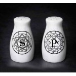 Sacred Geometry Salt & Pepper Shaker Set