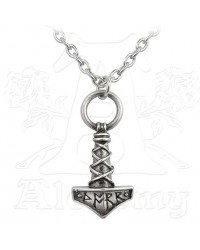Thors Hammer Pewter Amulet Pendant All Wicca Magickal Supplies Wiccan Supplies, Wicca Books, Pagan Jewelry, Altar Statues