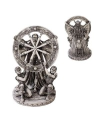 Arianrhod Wheel of the Year Bone Finish Resin Statue All Wicca Store Magickal Supplies Wiccan Supplies, Wicca Books, Pagan Jewelry, Altar Statues