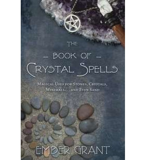 Book of Crystal Spells at All Wicca Store Magickal Supplies, Wiccan Supplies, Wicca Books, Pagan Jewelry, Altar Statues