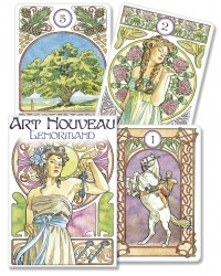 Art Nouveau Lenormand Oracle Cards All Wicca Store Magickal Supplies Wiccan Supplies, Wicca Books, Pagan Jewelry, Altar Statues