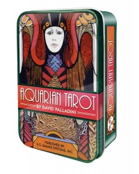 Aquarian Tarot Cards in a Tin All Wicca Store Magickal Supplies Wiccan Supplies, Wicca Books, Pagan Jewelry, Altar Statues