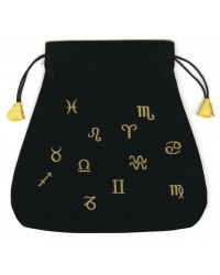 Astrological Velvet Tarot Bag All Wicca Store Magickal Supplies Wiccan Supplies, Wicca Books, Pagan Jewelry, Altar Statues