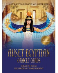 Auset Egyptian Oracle Cards All Wicca Store Magickal Supplies Wiccan Supplies, Wicca Books, Pagan Jewelry, Altar Statues