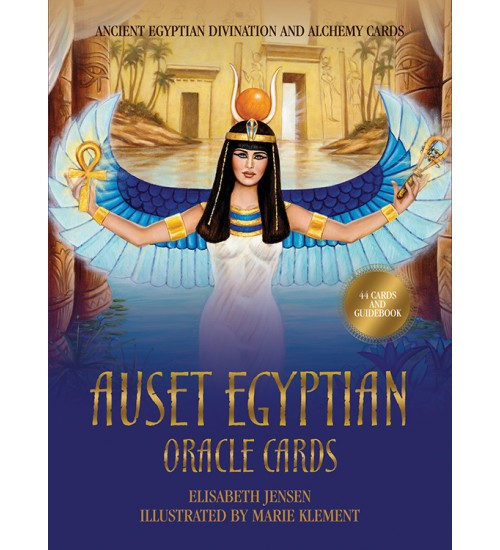 Auset Egyptian Oracle Cards at All Wicca Store Magickal Supplies, Wiccan Supplies, Wicca Books, Pagan Jewelry, Altar Statues