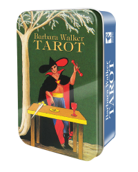 Barbara Walker Mini Tarot Cards in a Tin