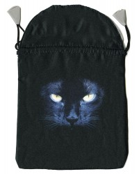 Black Cat Satin Tarot Bag All Wicca Store Magickal Supplies Wiccan Supplies, Wicca Books, Pagan Jewelry, Altar Statues