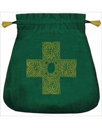 Celtic Cross Velvet Bag All Wicca Store Magickal Supplies Wiccan Supplies, Wicca Books, Pagan Jewelry, Altar Statues