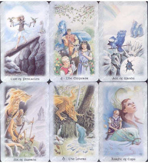 Celtic Dragon Tarot Card Kit at All Wicca Store Magickal Supplies, Wiccan Supplies, Wicca Books, Pagan Jewelry, Altar Statues