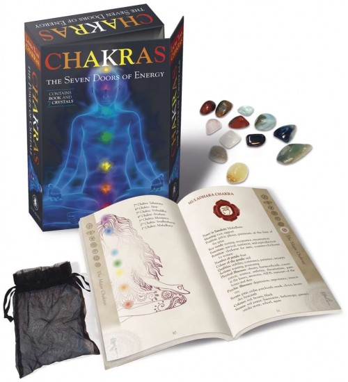 Chakras - The 7 Doors of Energy Kit at All Wicca Magickal Supplies, Wiccan Supplies, Wicca Books, Pagan Jewelry, Altar Statues