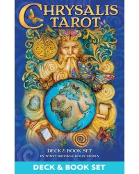 Chrysalis Tarot Cards Deck and Book Set