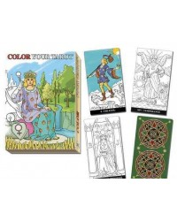 Color Your Own Tarot Card Deck