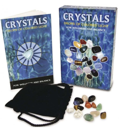 Crystals - Drops of Light Gemstone Kit at All Wicca Store Magickal Supplies, Wiccan Supplies, Wicca Books, Pagan Jewelry, Altar Statues