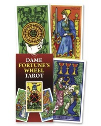 Dame Fortune's Wheel Tarot Card Deck All Wicca Store Magickal Supplies Wiccan Supplies, Wicca Books, Pagan Jewelry, Altar Statues