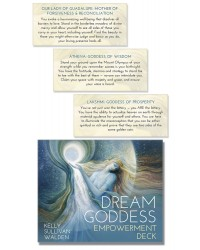 Dream Goddess Empowerment Cards Deck All Wicca Store Magickal Supplies Wiccan Supplies, Wicca Books, Pagan Jewelry, Altar Statues