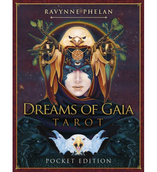 Dreams Of Gaia Tarot Cards (Pocket Edition) at All Wicca Store Magickal Supplies, Wiccan Supplies, Wicca Books, Pagan Jewelry, Altar Statues