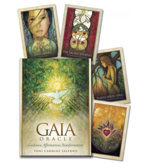 Gaia Oracle Card Deck at All Wicca Store Magickal Supplies, Wiccan Supplies, Wicca Books, Pagan Jewelry, Altar Statues