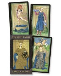 Golden Tarot of Visconti Grand Trumps Italian Tarot Cards All Wicca Store Magickal Supplies Wiccan Supplies, Wicca Books, Pagan Jewelry, Altar Statues