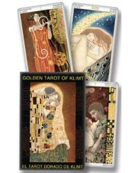 Golden Tarot of Klimt Tarot Cards All Wicca Store Magickal Supplies Wiccan Supplies, Wicca Books, Pagan Jewelry, Altar Statues