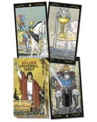 Golden Universal Tarot Card Deck All Wicca Store Magickal Supplies Wiccan Supplies, Wicca Books, Pagan Jewelry, Altar Statues
