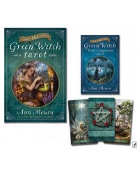 Green Witch Tarot Cards Boxed Set All Wicca Store Magickal Supplies Wiccan Supplies, Wicca Books, Pagan Jewelry, Altar Statues