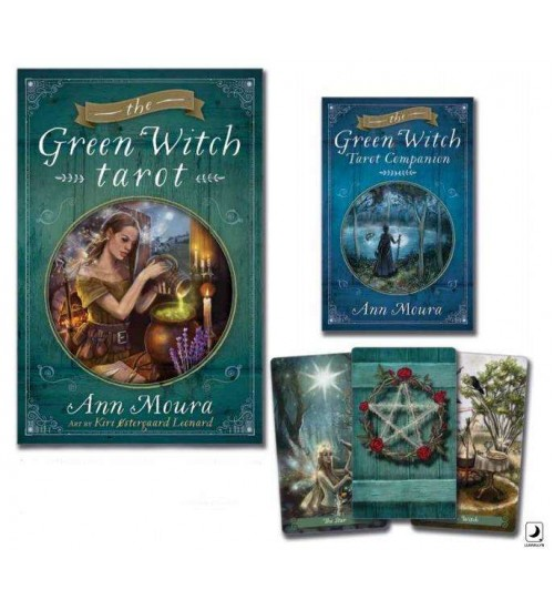 Green Witch Tarot Cards Boxed Set at All Wicca Store Magickal Supplies, Wiccan Supplies, Wicca Books, Pagan Jewelry, Altar Statues