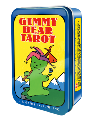 Gummy Bear Tarot Mini Cards in Tin