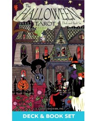 Halloween Tarot Cards Deck and Book Set