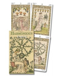 Harmonious Mini Tarot Cards of Lady Victorian Westwood All Wicca Store Magickal Supplies Wiccan Supplies, Wicca Books, Pagan Jewelry, Altar Statues