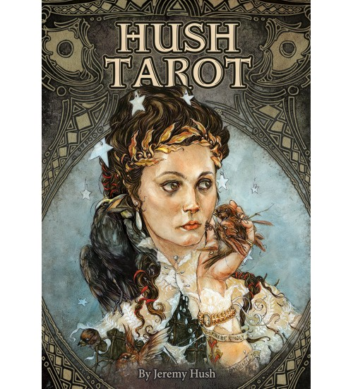 Hush Tarot Cards at All Wicca Store Magickal Supplies, Wiccan Supplies, Wicca Books, Pagan Jewelry, Altar Statues