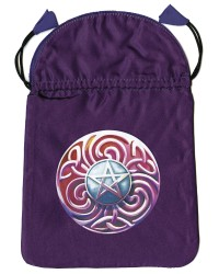 Magic Star Satin Tarot Bag All Wicca Store Magickal Supplies Wiccan Supplies, Wicca Books, Pagan Jewelry, Altar Statues