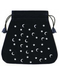 Moon and Stars Velvet Bag All Wicca Store Magickal Supplies Wiccan Supplies, Wicca Books, Pagan Jewelry, Altar Statues