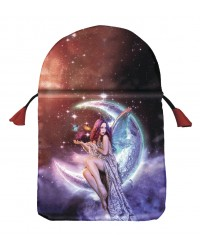 Moon Fairy Satin Tarot Bag All Wicca Store Magickal Supplies Wiccan Supplies, Wicca Books, Pagan Jewelry, Altar Statues