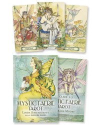 Mystic Faerie Tarot Cards and Book Set All Wicca Store Magickal Supplies Wiccan Supplies, Wicca Books, Pagan Jewelry, Altar Statues