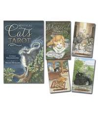 Mystical Cats Tarot Card and Book Set All Wicca Store Magickal Supplies Wiccan Supplies, Wicca Books, Pagan Jewelry, Altar Statues