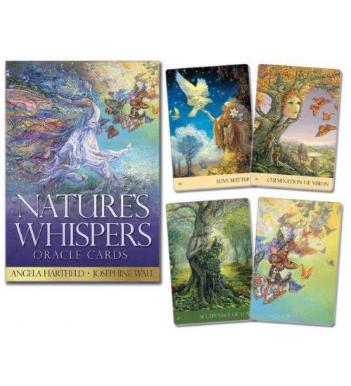 Nature's Whispers Oracle Cards at All Wicca Store Magickal Supplies, Wiccan Supplies, Wicca Books, Pagan Jewelry, Altar Statues