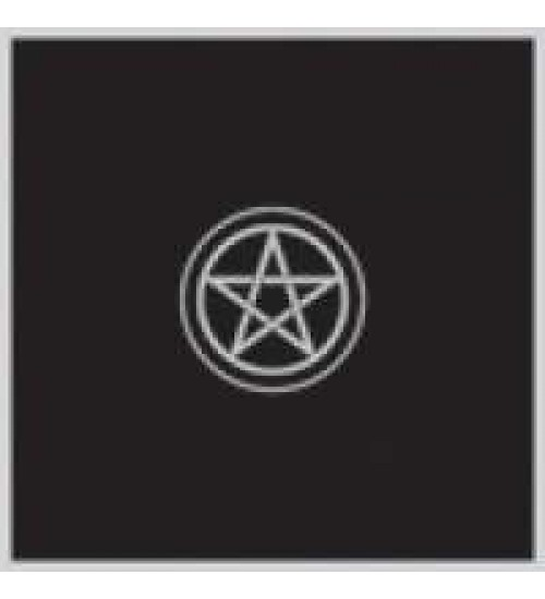 Pentacle Embroidered Black Velvet Cloth at All Wicca Magickal Supplies, Wiccan Supplies, Wicca Books, Pagan Jewelry, Altar Statues