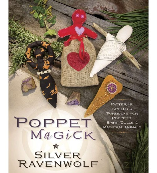 Poppet Magick by Silver Ravenwolf at All Wicca Magical Supplies, Wiccan Supplies, Wicca Books, Pagan Jewelry, Altar Statues