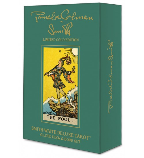Smith-Waite Deluxe Tarot: Gilded Set at All Wicca Store Magickal Supplies, Wiccan Supplies, Wicca Books, Pagan Jewelry, Altar Statues