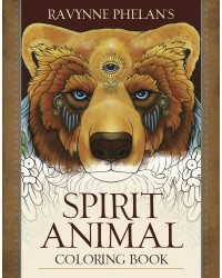 Spirit Animal Coloring Book All Wicca Store Magickal Supplies Wiccan Supplies, Wicca Books, Pagan Jewelry, Altar Statues