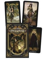 Steampunk Tarot Cards and Book Boxed Set All Wicca Store Magickal Supplies Wiccan Supplies, Wicca Books, Pagan Jewelry, Altar Statues