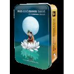 Sun and Moon Tarot Cards in a Tin
