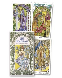 Tarot Art Nouveau Cards All Wicca Store Magickal Supplies Wiccan Supplies, Wicca Books, Pagan Jewelry, Altar Statues