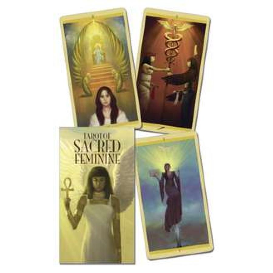 Sacred goddess feminine tarot deck divine feminine tarot cards tarot of the sacred feminine biocorpaavc Images
