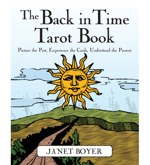The Back in Time Tarot Book at All Wicca Store Magickal Supplies, Wiccan Supplies, Wicca Books, Pagan Jewelry, Altar Statues